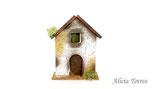 Casa con tejado rojo (Ref. 1350)