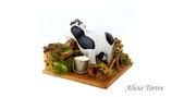 Corral con vaca, de Naif (Ref. 27213)