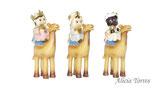 Reyes magos en camello, de Puig (Ref. 27209)