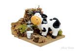 Corral con vaca, Reilaflor (Ref. 2756)