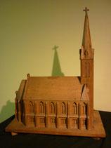 VA-C-0414-240  Kirchenmodell, Holz