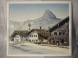 PO-B-0215-300  Bildplatte, Berchtesgaden