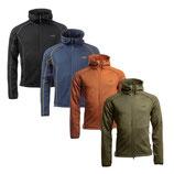 ARRAK - Power Fleece Men NAVY, SCHWARZ, BURNT ORANGE oder OLIVE