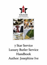 7 Star Service Luxury Butler Service eBook Version