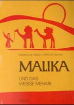de Cesco Federica, Malika und das weisse Mehari (in Grossbuchstaben)