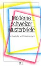 Lütscher-Joos Martin, Moderne Schweizer Musterbriefe