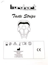 Instructions for use and evaluation material for Taste Strips (50 sets)
