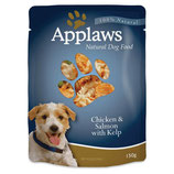 Chicken & Salmon with Kelp - 150g Pouches (12 Pack)