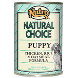 Chicken, Rice & Oatmeal Puppy - 400g Tins (12 Pack)