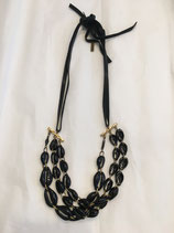 ISABEL MARANT Necklace black/gold