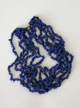 VINTAGE Necklace blue stone