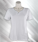 S Reimer Damen T Shirt ( Modell Kuss)( weiß)