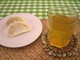 薬草茶とオレンジ