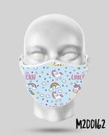 Mascarilla higiénica reutilizable 162