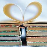 Fotoklotz Bücherherz