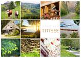 Postkarte Titisee Dutzend weiß