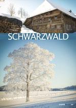 Postkarte SW 2Drittel Winter türkis