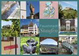 Postkarte Staufen Dutzend