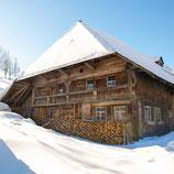 Fotoklotz Winterhof