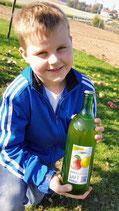 Apfelsaft hausgemacht - 1 Liter
