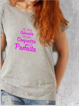 T-shirt femme parfaite