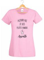 T-shirt pour une femme sympa
