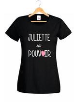 T-shirt pour femme de pouvoir