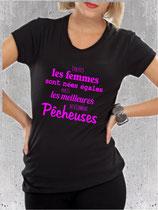 T-shirt femme pêcheuse