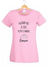 T-shirt pour une femme énervée