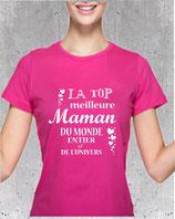 T-shirt avec message pour maman