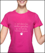T-shirt marrant pour femme