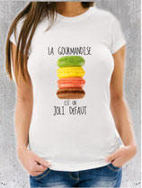 T-shirt Fille gourmande