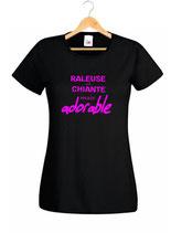 T-shirt humour raleuse et chiante