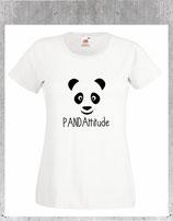 tshirt panda pour femme