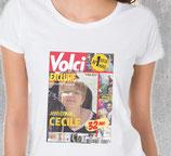 T-shirt avec votre photo sur magazine