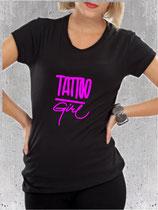 T-shirt femme et le tatouage