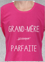 T-shirt message à grand-mère