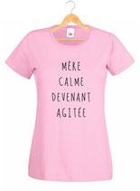 Tee-shirt mère calme