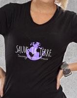 T-shirt pour femme sauve les animaux