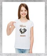 T-shirt dalmatien pour fille et femme