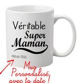 MUG maman personnalisable