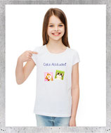 T-shirt fille passion cats