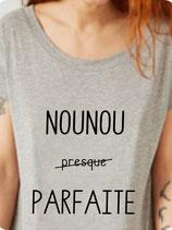 T-shirt message à NOUNOU