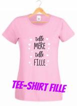 T-shirt fille pour une maman