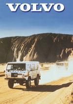 Broschüre über die Entstehungsgeschichte der Volvo-Geländefahrzeuge
