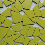 1kg frostfester Fliesenbruch gelb-grün K464