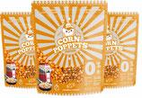 3x 500 g Premium Popcorn Mais