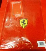 Handtuch mit Ferrarilogo rot