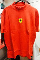 Ferrari T-Shirt mit Logo