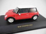 Mini Cooper 2001 Rot